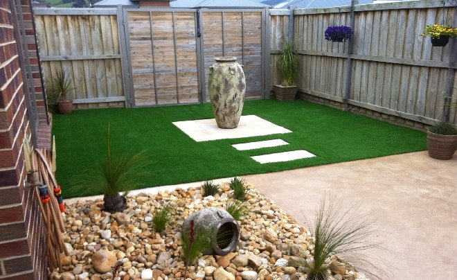 Artificial Grass Landscape Best landscape designs with fake grass newturf fake grass landscaping 5 workwithnaturefo